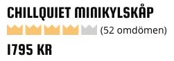 2018 betyg av minikylskåp